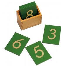 Montessori rough numbers