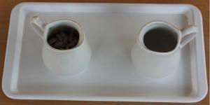 Pour beans