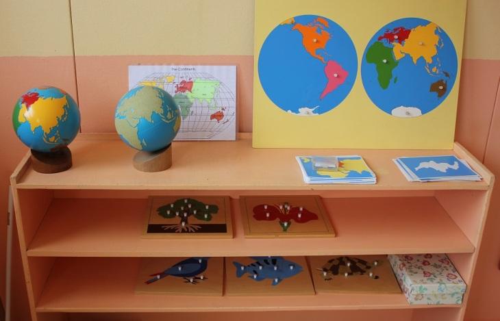 Montessori géographie et sciences
