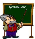 La grammaire.