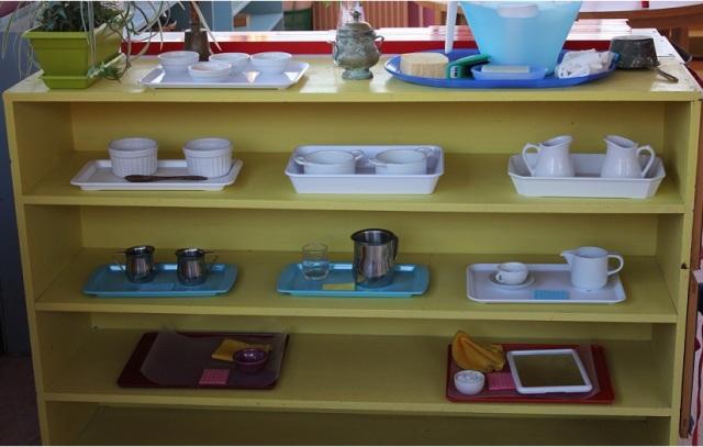Montessori vie pratique.