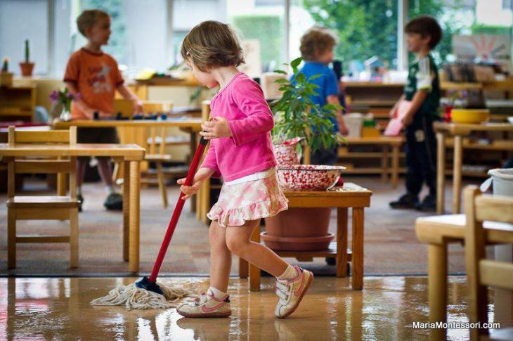 Prendre soin de l'environnement de la classe.