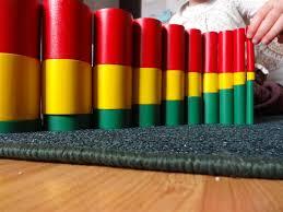 A unique material used in Montessori classes
