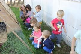 Les élèves de maternelle.