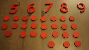 Montessori material mathematics