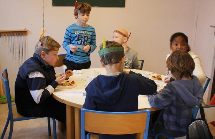 Montessori fête Thanksgiving