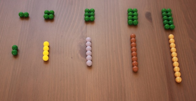 Montessori material concrete