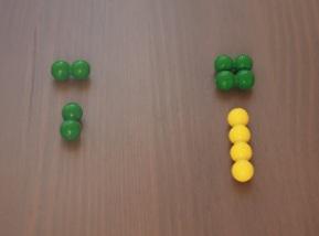 Montessori material maths.