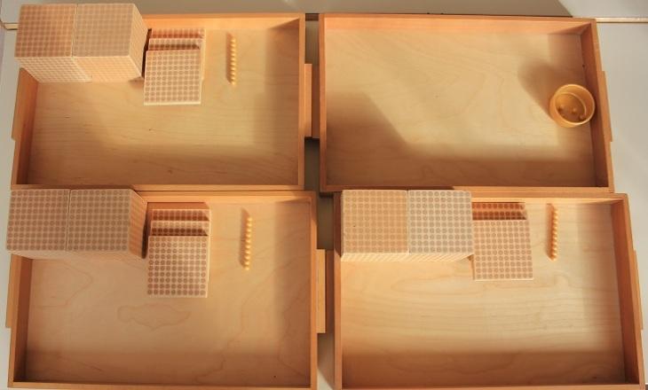 Montessori dizaines