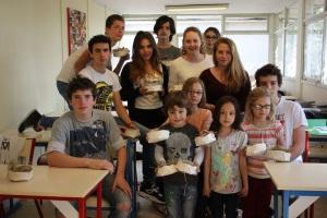 Les lycéens et les petits