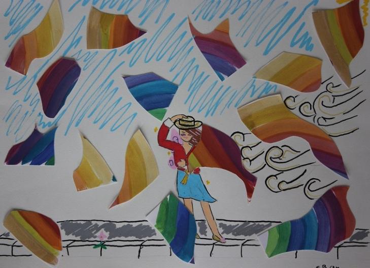 Montessori dessin collage