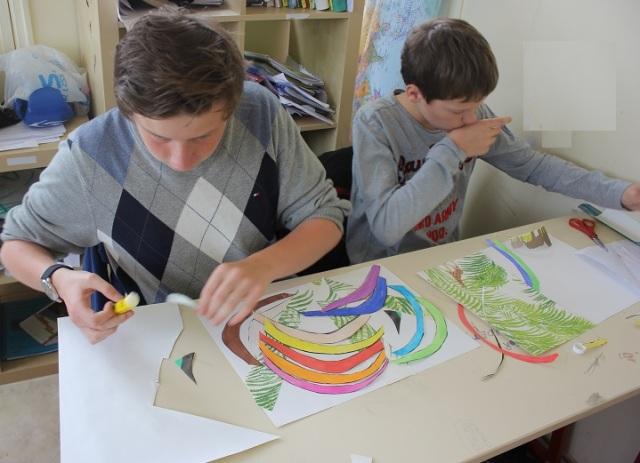 Montessori développement du sens artistique
