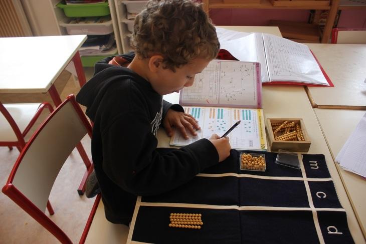 Montessori matériel mathématiques