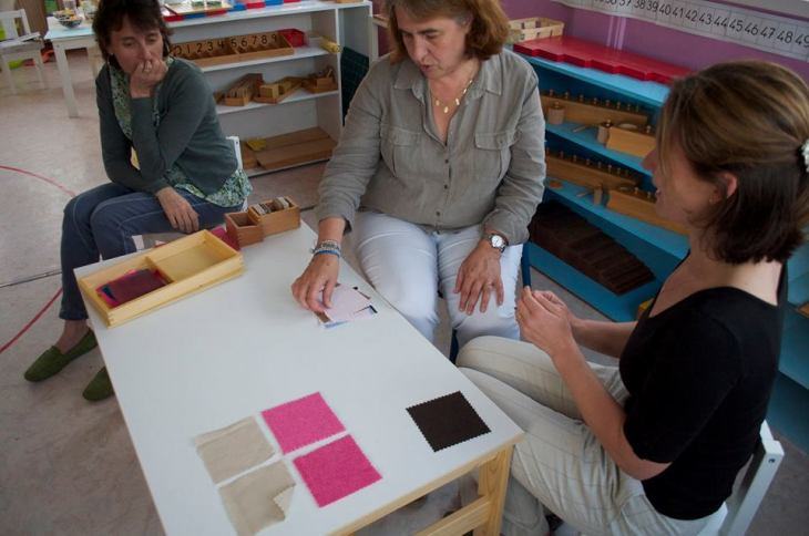 Montessori sens du toucher