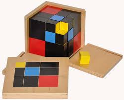 Montessori trinôme