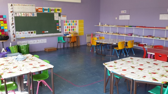 Formation montessori la m tamorphose d une classe lyc e international mon - Amenagement classe maternelle ...
