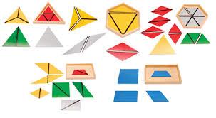 Montessori géométrie sensoriel
