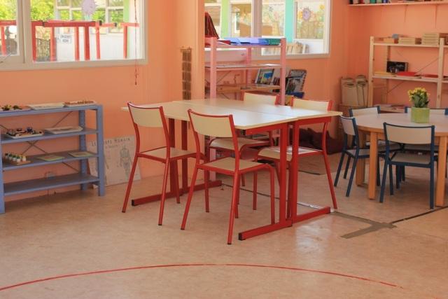 Montessori classe de primaire.