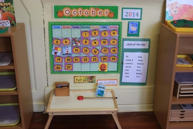 Montessori le temps