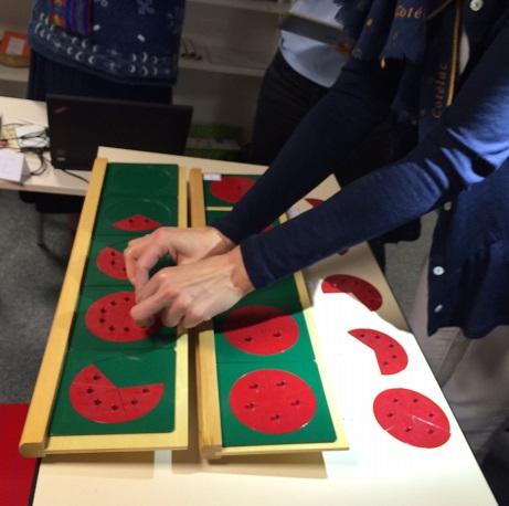 Montessori fractions
