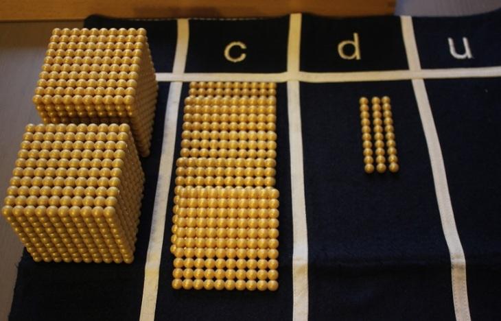 Montessori matériel concret
