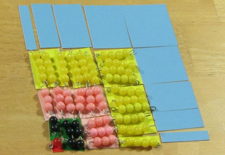 Montessori algèbre