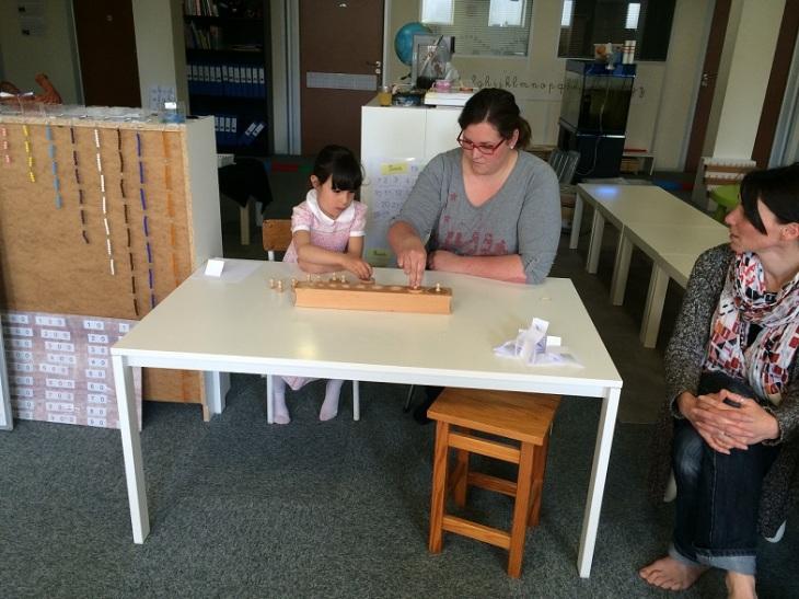 Montessori sens visuel