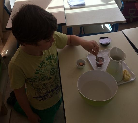 Montessori - expérience