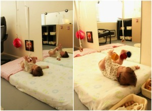 Montessori aménagement de la chambre