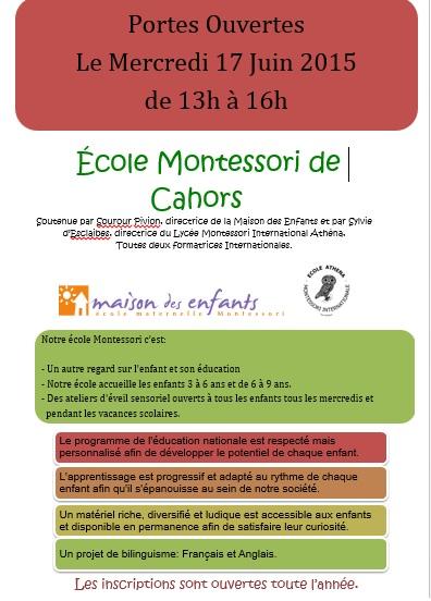 Montessori école