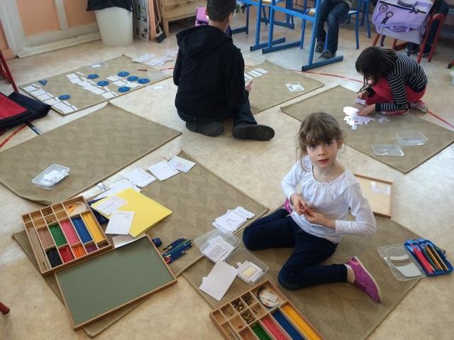 Montessori travail