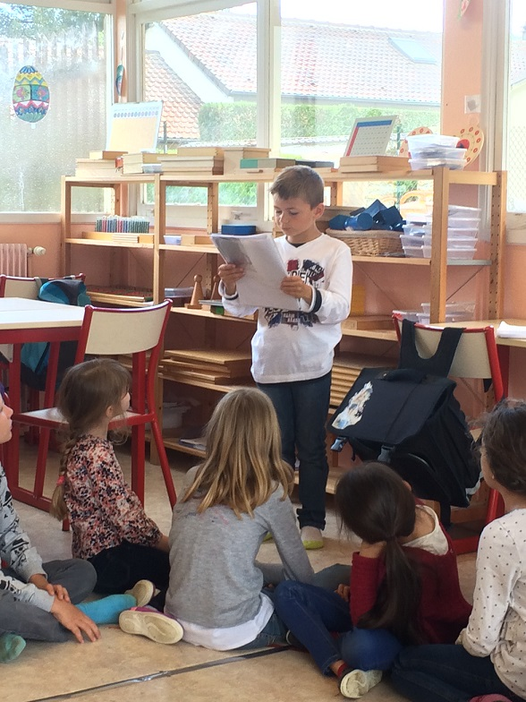 Montessori exposé