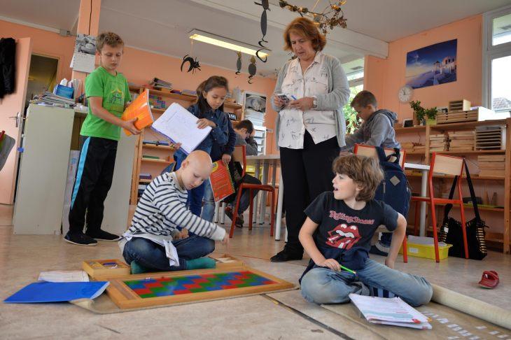 Montessori la classe
