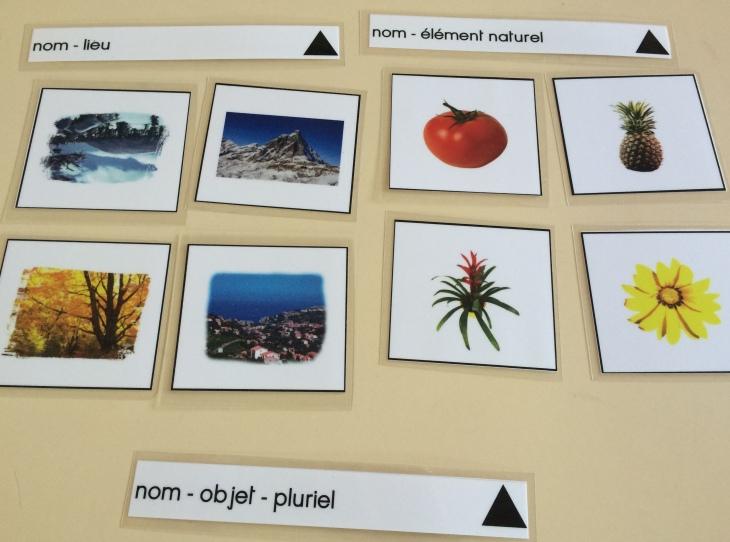 Montessori - grammaire