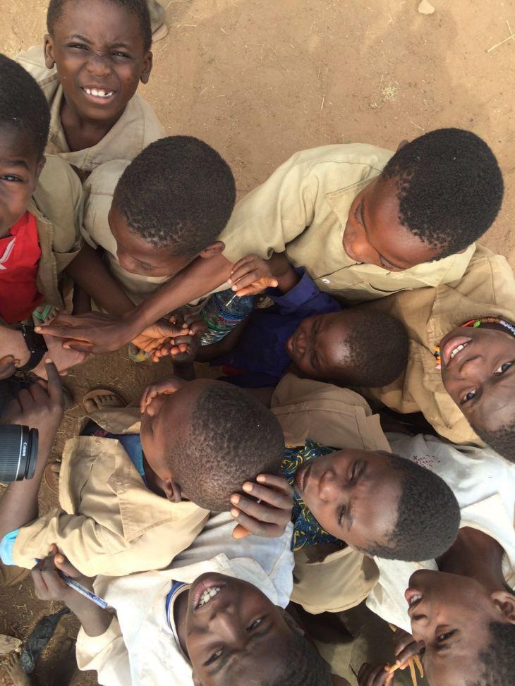 Des enfants heureux !