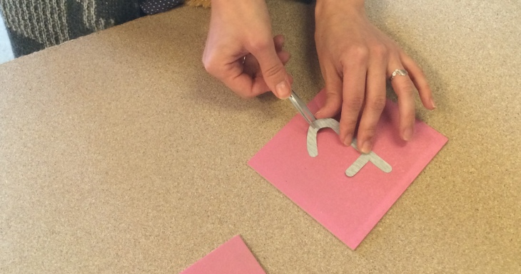 Montessorii lettres rugueuses