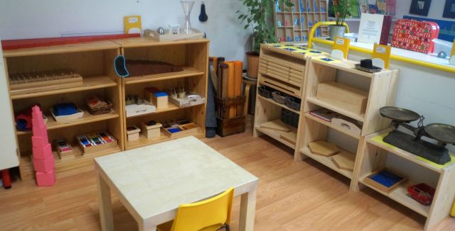 Montessori vie sensorielle