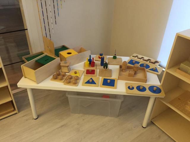 Montessori motricité