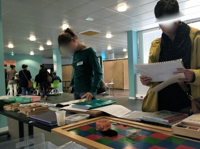 Montessori plans de travail