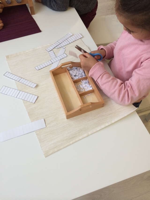 Montessori concentration