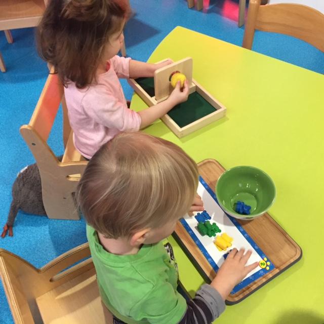 La pédagogie Montessori en crèche.