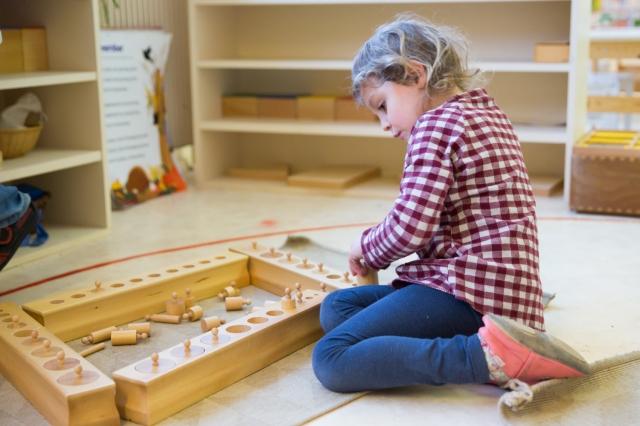 Montessori matériel sensoriel