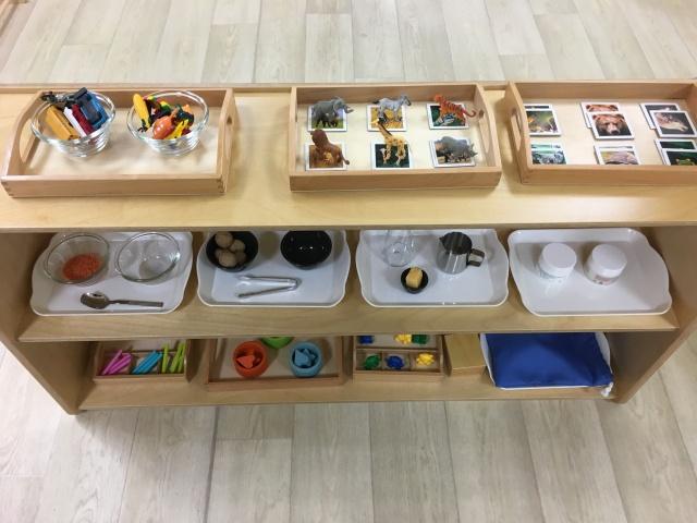 Montessori langage vie pratique vie sensorielle